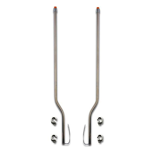 Kenworth W900A Stainless Steel LED Bumper Guide