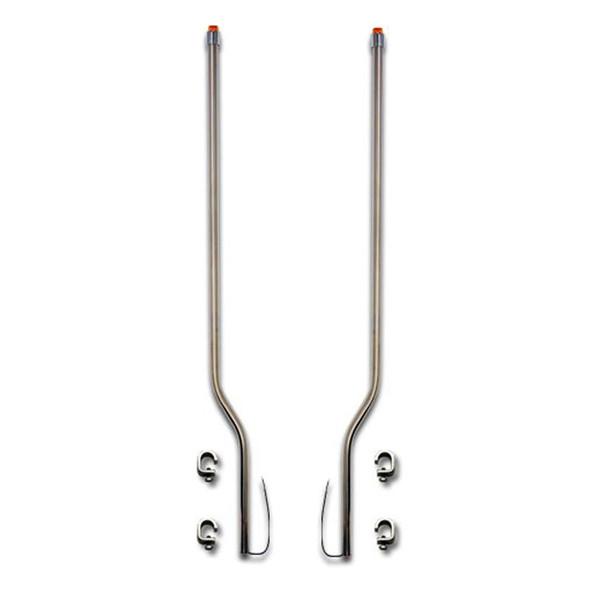 Peterbilt 567 Stainless Steel LED Bumper Guide