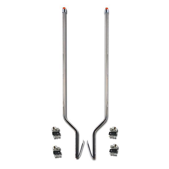 International Transtar 8600 Stainless Steel LED Bumper Guide