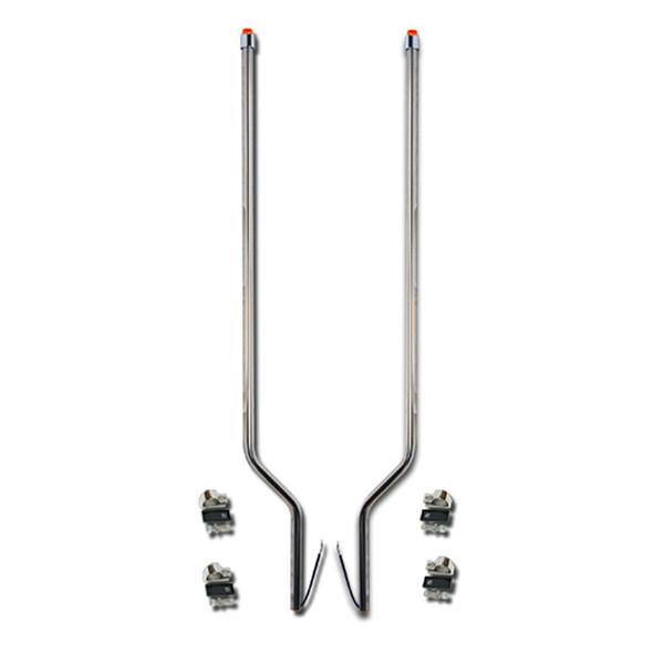Sterling A-Line Stainless Steel LED Bumper Guide