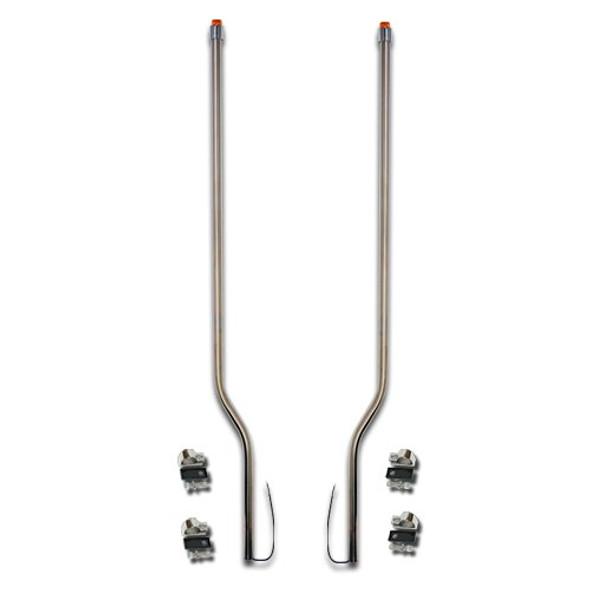 International 9200 9400 Stainless Steel LED Bumper Guide