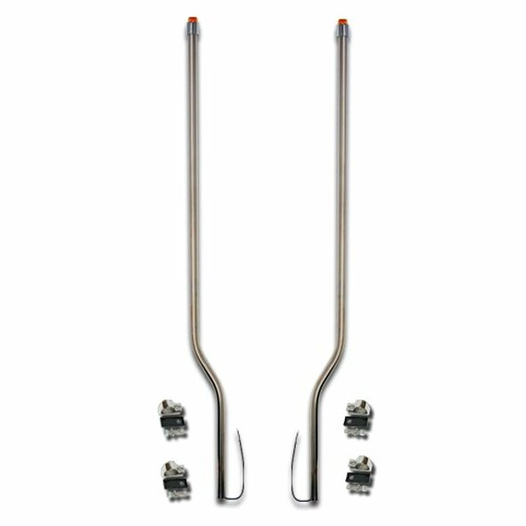 Volvo VNL Stainless Steel LED Bumper Guide