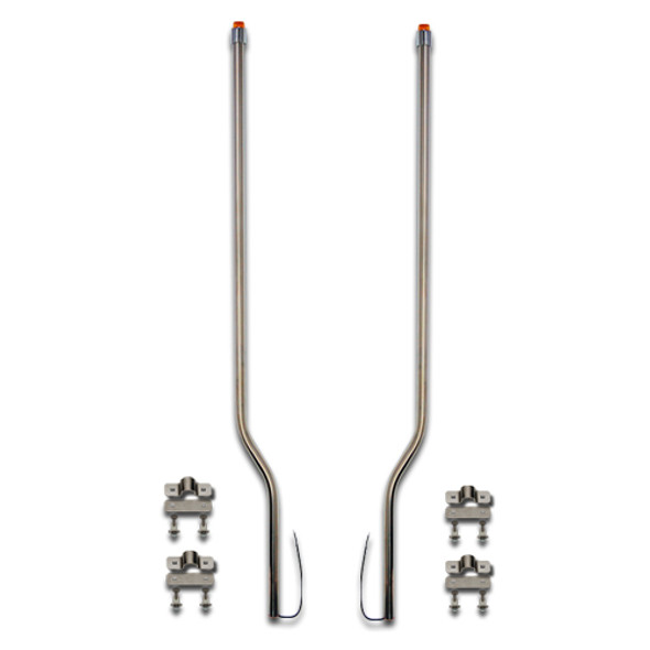 Volvo Aero Stainless Steel LED Bumper Guide