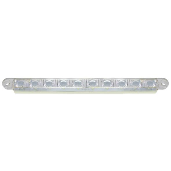 "10 LED 9"" Auxiliary Light Bar Side"