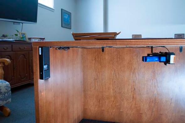 NRA Bio Handgun Holster On Desk