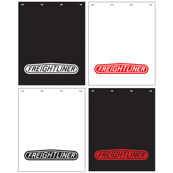 "Polyguard Mud Flap Freightliner Logo 24"" x 30"" (Options)"