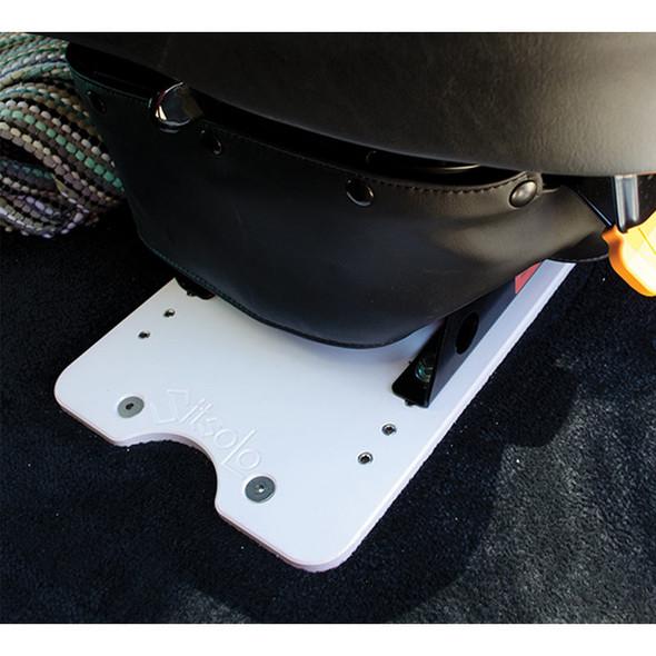 """Bostrom Truck Seat Base Adaptor 10"""" Plate In Truck"""