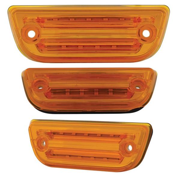 Peterbilt 579 & Kenworth T680 T770 T880 LED Rectangular Cab Light Amber Lens