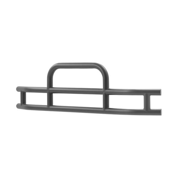 Peterbilt 587 Tuff Guard Grill Guard (Black Steel, 25° Angle)