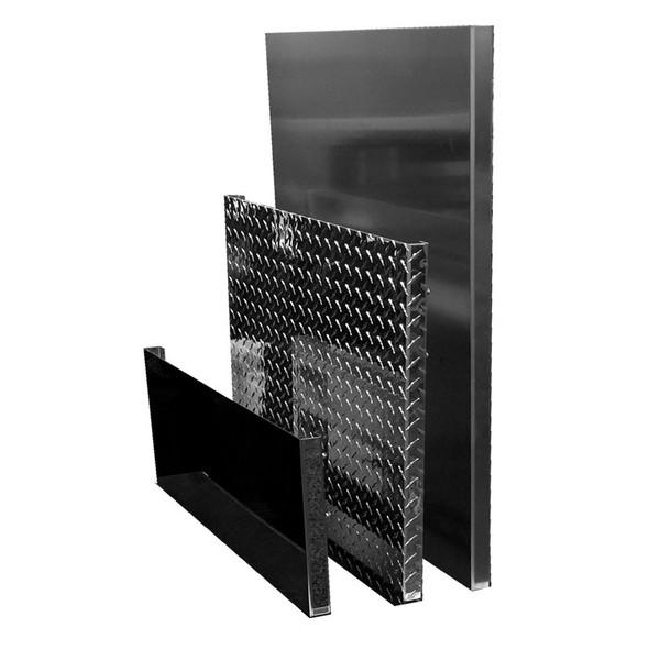 Custom In Frame Aluminum Deck Plate - Styles