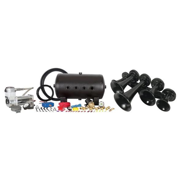 HornBlasters AirChime K5 Train Horn (Complete Kit)