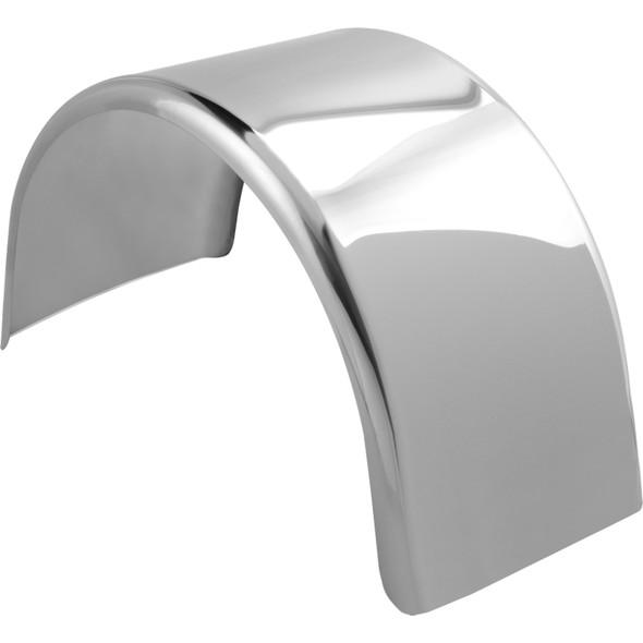 """Hogebuilt 90"""" Value-Line Stainless Steel Single Axle Lowrider Fenders"""