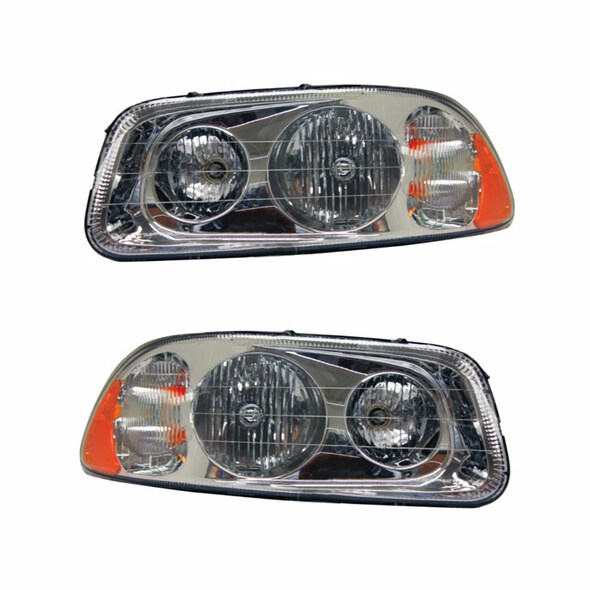 Mack Granite Pinnacle CV GU7 GU8 Vision Halogen Headlight Assembly 21836341 21836340