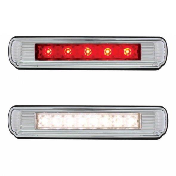 Chrome Flush Mount LED License Plate Light Colors