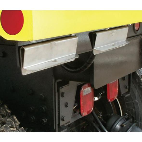 Minimizer Fast Flap Releasable Mud Flap Hanger Brackets - No Mud Flap