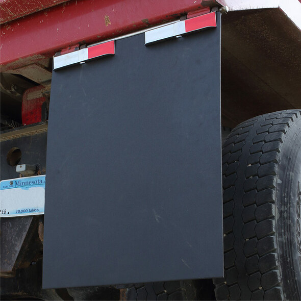 Minimizer Fast Flap Releasable Mud Flap Hanger Brackets