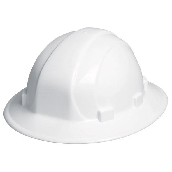 Omega II Full Brim Ratchet Hat - White