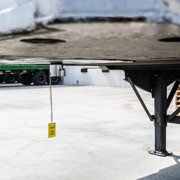 RoadPro - Heavy-Duty Steel King Pin Lock On Truck