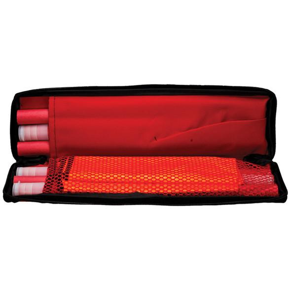Orion 6 Piece Emergency Flare Roadside Kit Case Opened