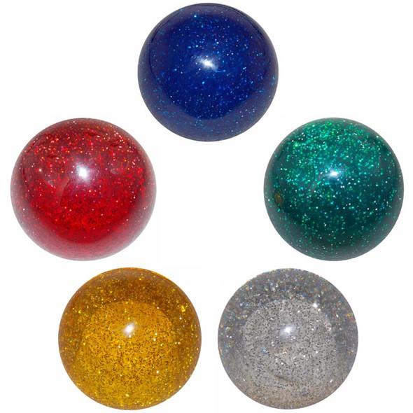 Glitter Shift Knob Kit Blue Green Clear Red Amber