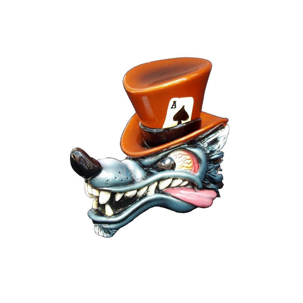 Top Hat Wolf Shift Knob Kit Pumpkin Orange