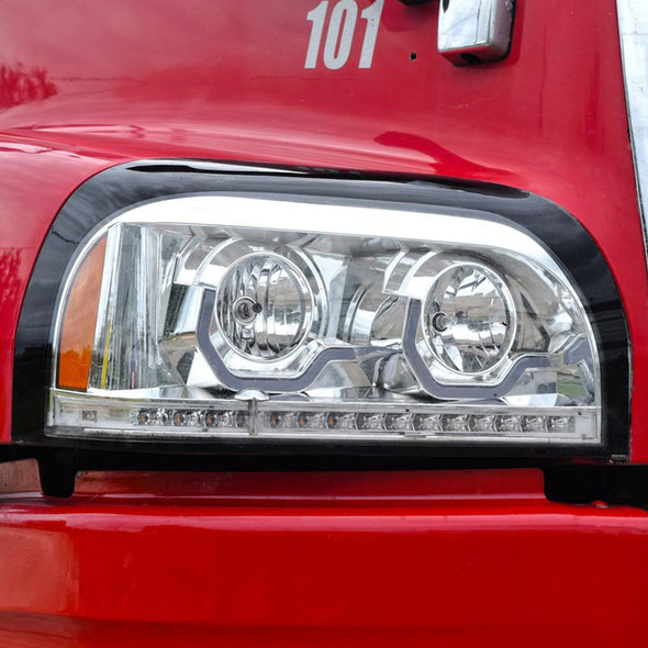 Freightliner Century Project Headlight - Angled View