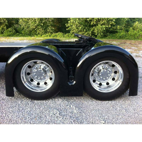 """""""PROJECT TWO"""" Low Cut Double Hump Rear Fender Set"""