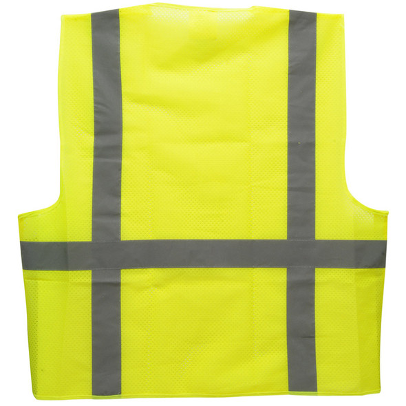 West Chester Holdings Inc High Visibility Safety Vest Back