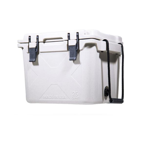 Bison 25QT White Cooler