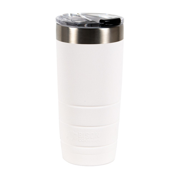 Bison 22oz Leakproof Stainless Steel Tumbler - White