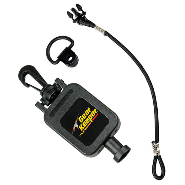 """GearKeeper Retractable CB Mic Holder With Snap Clip Mount System  28"""""""
