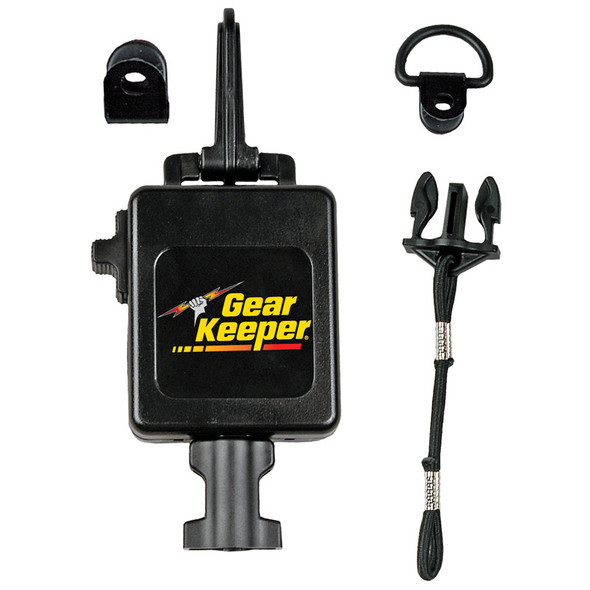 """GearKeeper Retractable CB Mic Holder With Snap Clip Mount System  42"""""""