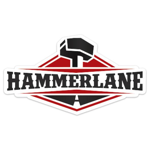 """Hammerlane 4"""" Sticker"""