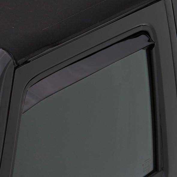 Dodge Ram 1500 2500 3500 AVS Black Ventshade 2 Piece