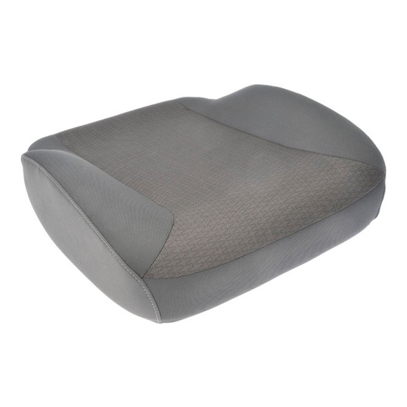International Vinyl & Cloth Seat Cushion Light Gray 2595485C92