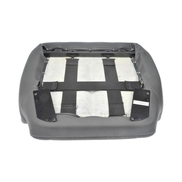 International Vinyl & Cloth Seat Cushion Light Gray - Bottom View