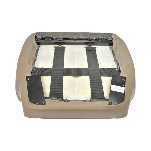 International Vinyl & Cloth Seat Cushion Tan - Bottom View