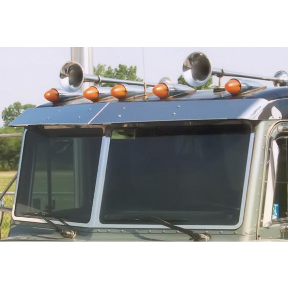 Peterbilt Flat Top Factory-Style Replacement Visor