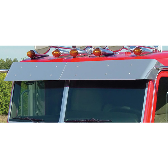 Peterbilt Flat Top Regular Drop Bow-Tie Visor