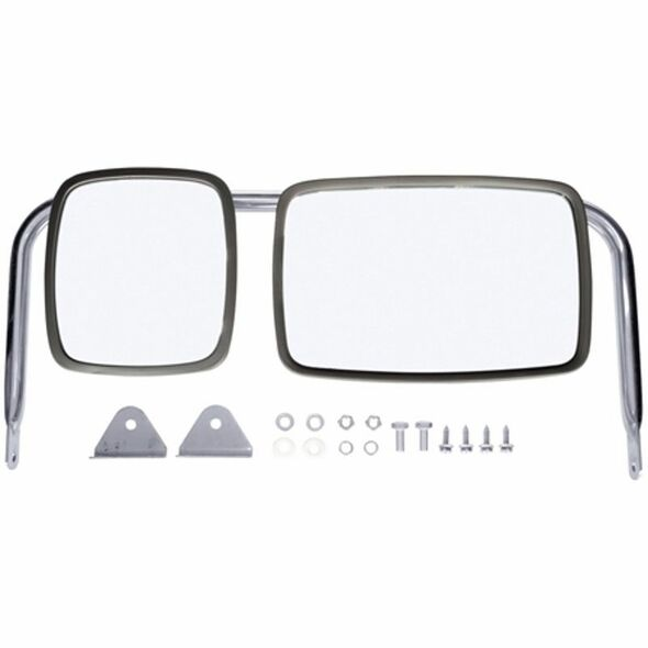 Non-Motorized West Coast Lighted Mirror 97846 - View With Hardware