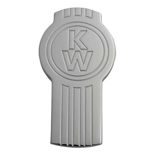 Engraved Kenworth Logo Shaped Tractor Trailer Air Brake Knob