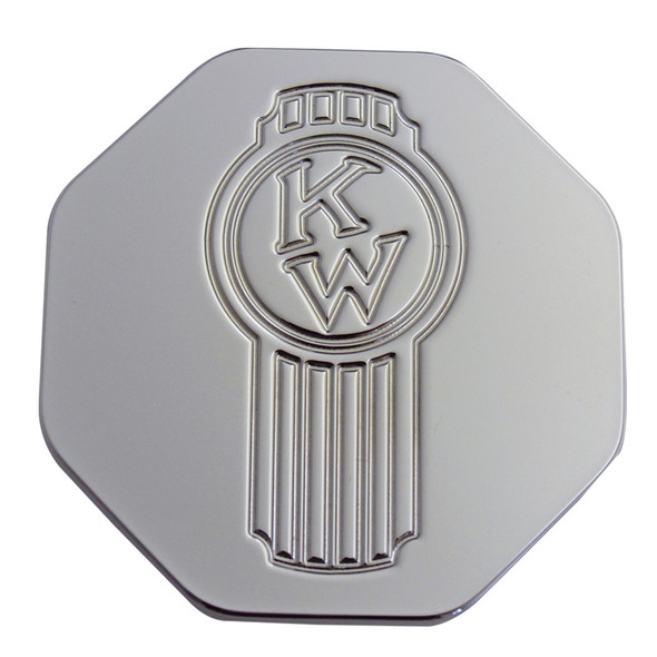 Engraved Kenworth Old Style Logo Tractor Trailer Air Brake Knob - Octagon