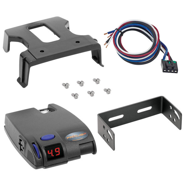 Tekonsha Primus IQ Electronic Brake Control For 1-3 Axle Trailers 90160 With Mounting Clip