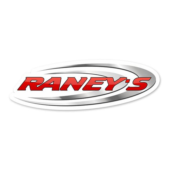 """Raneys Logo 4"""" Vinyl Sticker"""