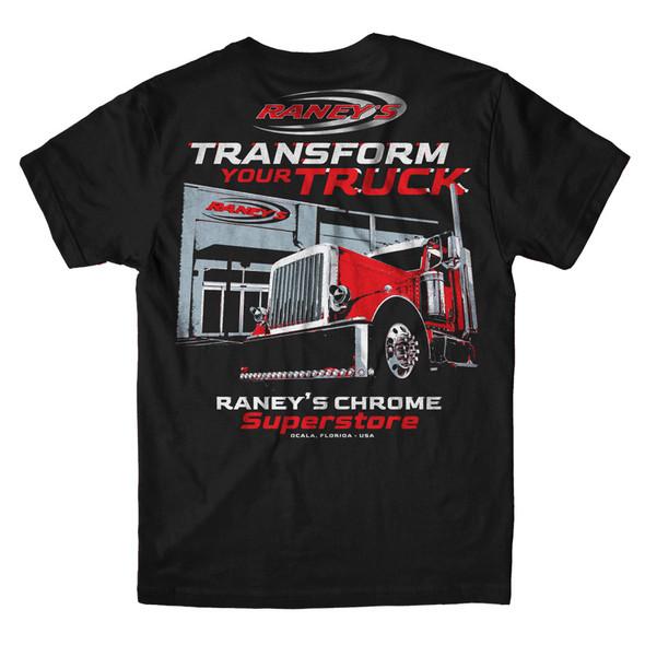 Raney's Transform Your Truck Shirt Back
