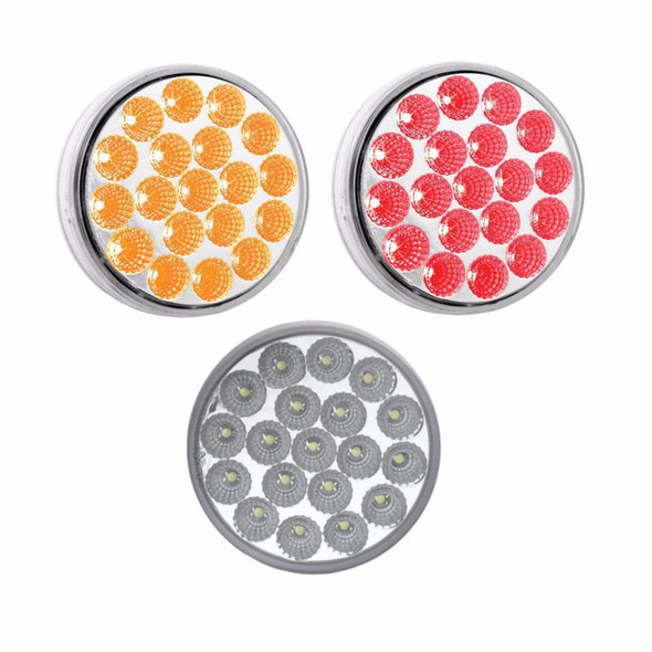 4'' Dual Amber/Red Stop Turn & Tail LED