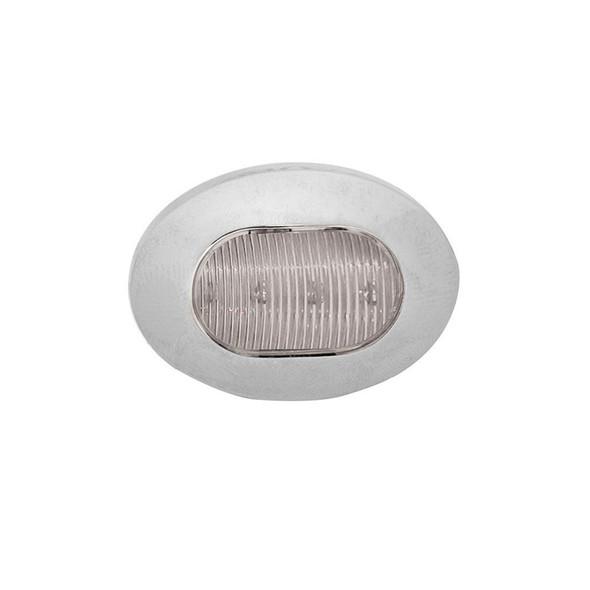 Mini Oval Button Dual Revolution Light Off