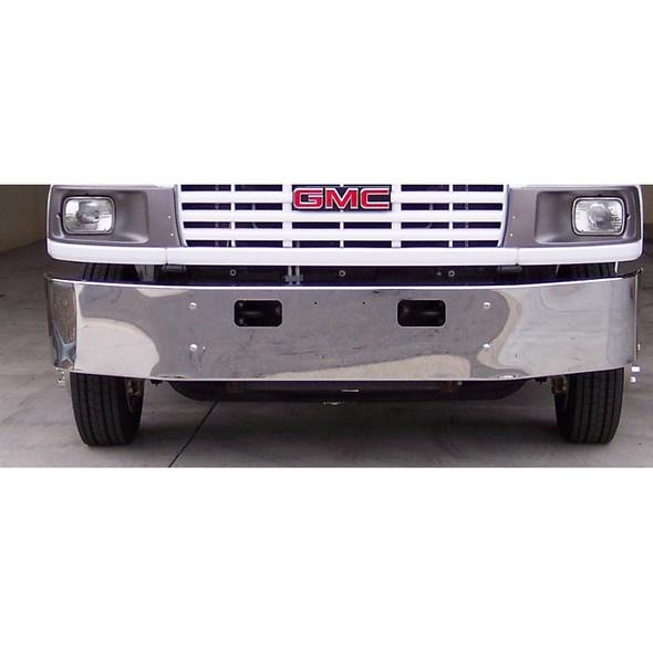 "GMC C4500 C5500 Chrome Bumper 14"""