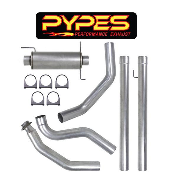 "Pypes Dodge Ram 2500 3500 5.9L 5"" Turbo Back Exhaust System - Pypes"
