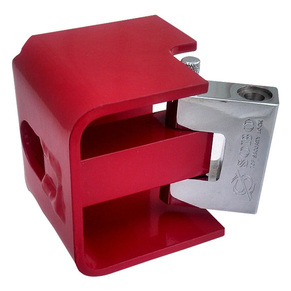 The Jackdawg Trailer Landing Gear Lock With Concealed Shackle